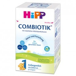 Hipp Organic German Formula Stage 1 First Infant Milk (600g) 0-6 months *** 12-Pack! ***