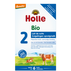 Holle Stage 2 Organic Infant Cow Milk Formula Powder  6+ months *** 4-Pack! ***