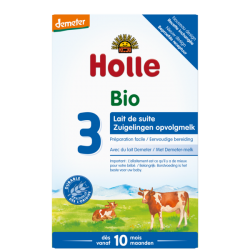 Holle Stage 3 Organic Infant Cow Milk Formula Powder 12+ months *** 24-Pack! ***