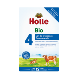 Holle Stage 4 Organic Infant Cow Milk Formula Powder 12-24 months *** 4-Pack! ***
