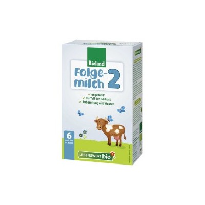 Lebenswert Bio Stage 2 Organic Follow On Milk Formula 500g - 6+ Months *** 6 Pack! ***