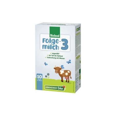 Lebenswert Bio Stage 3 Organic Follow Up Milk Formula 475g - 10+ Months *** 10 Pack! ***