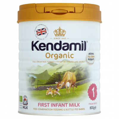 Kendamil Organic First Infant Milk Stage 1 (800g) *** 12 Pack! ***