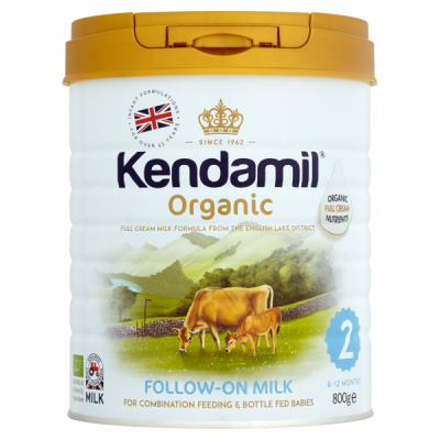Kendamil Organic Follow On Milk Stage 2 (800g) *** 18 Pack! ***