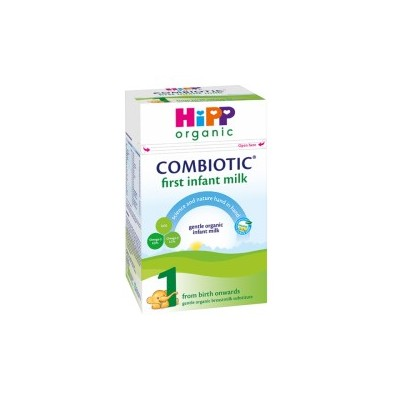 Hipp Organic Combiotic Formula Stage 1 First Infant Milk UK Version (800g) 0-6 months *** 6-Pack! ***