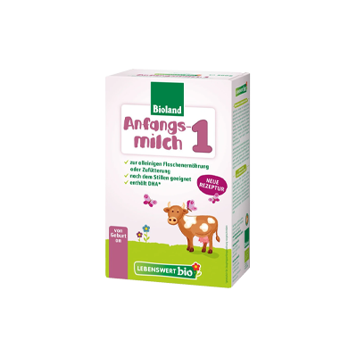 Lebenswert Bio Stage 1 Organic Infant Milk Formula 500g - 0+ Months *** 4 Pack! ***