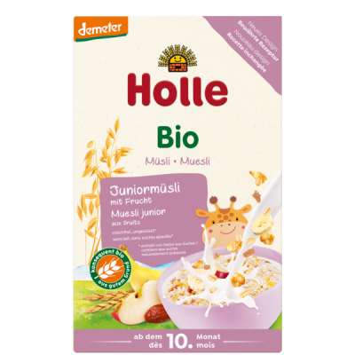 Holle Organic Junior Muesli Multigrain With Fruit *** 24 Pack! ***