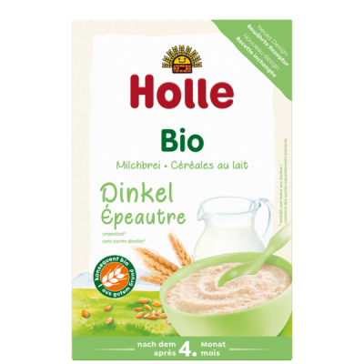 Holle Organic Milk Cereal With Spelt *** 6 Pack! ***