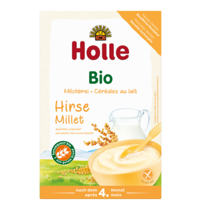 Holle Organic Milk Cereal With Millet *** 12 Pack! ***