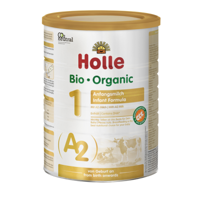 Holle Stage 1 Cow - A2 Organic Infant Formula (800g) 0-6 months *** 6-Pack! ***