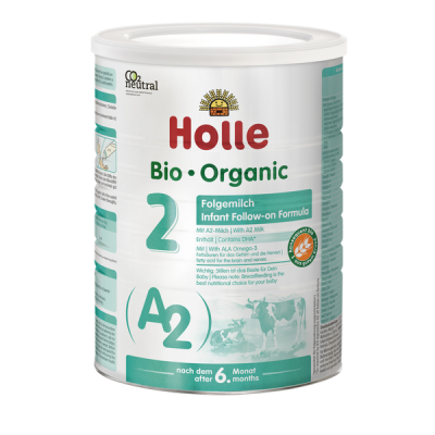 Holle Stage 2 Cow - A2 Organic Follow-on Formula (800g) 6+ months *** 4-Pack! ***