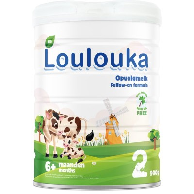 Loulouka Follow-on milk Stage 2 - 800g *** 4 Pack ***